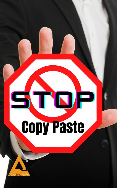 Plagiarism check