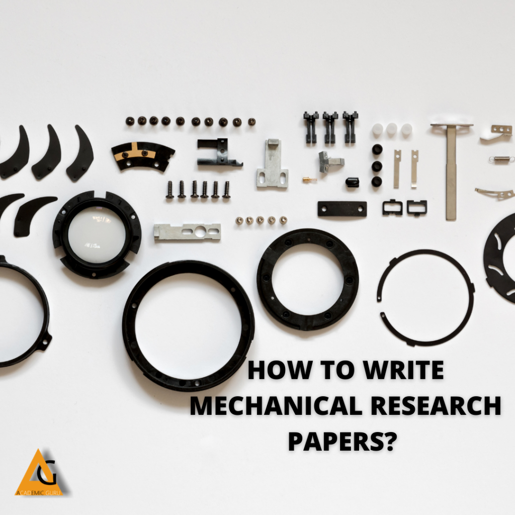 MECHANICAL RESEARCH PAPER