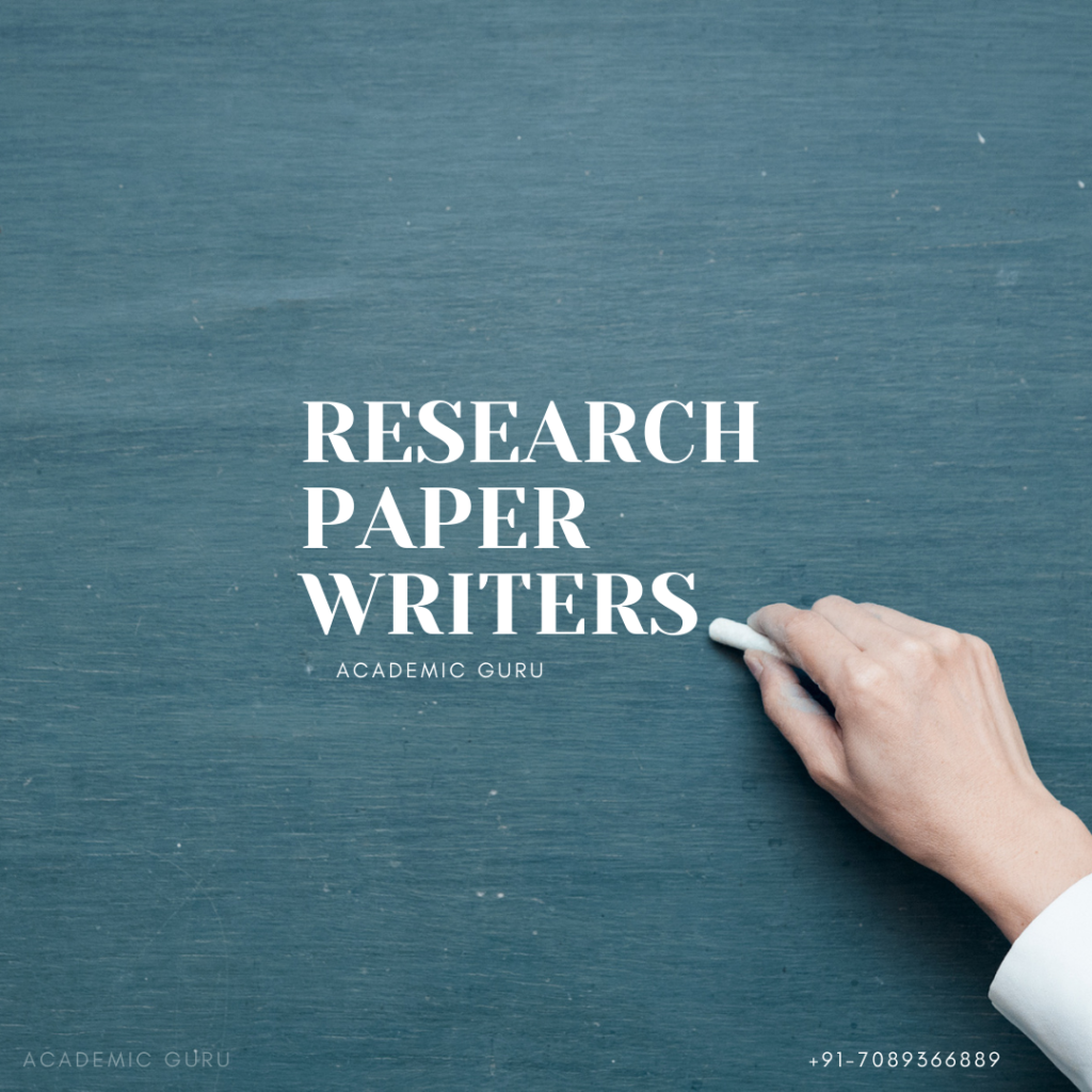Research Paper Writers
